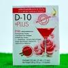 D-10 +Plus ดีเทนพลัส ผิวขาว อย. 10-1-00152-1-0178