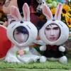 คู่รักกระต่ายแต่งงาน