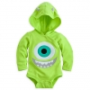z Mike Wazowski Disney Cuddly Bodysuit Costume for Baby (12-18month)