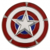 z Captain America Belt Buckle by 1928 Jewelry