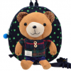 กระเป๋าเป้สะพายหลังเด็กแนว ดีไซค์หมีน่ารัก มาพร้อมสายจูง