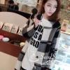 เสื้อโค๊ทลายสก๊อตทรงสวย มีกระดุมคู่ด้านหน้า กระเป๋าด้านข้าง เนื้อผ้ายืดหยุ่นได้ งานคุณภาพป้าย Seoulciety