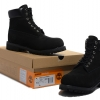 รองเท้าหนัง Men's and Women's Timberland 6-inch Premium Waterproof Boots All Black Size 38-45 พร้อมกล่อง