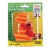 z Sesame Street Elmo First Birthday Candle เทียนแฟนซี เทียนวันเกิด ครบ1ปี (พร้อมส่ง)