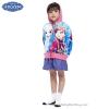 ( Size เด็ก 4-6-8-10 ปี ) Jacket Disney Frozen for Girl เสื้อแจ็คเก็ต เสื้อกันหนาว เด็กผู้หญิง สีฟ้า รูดซิป มีหมวก(ฮู้ด)ใส่คลุมกันหนาว กันแดด ใส่สบาย ดิสนีย์แท้ ลิขสิทธิ์แท้