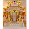ศาลเจ้าที่ขนาด 24 นิ้ว 888 หินสีขาว พ่นทอง