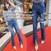 &#x2654Flared Jeans&#x2654 &#x2661Odee&Cutie Daily Fashion 2016&#x2661 กางเกงยีนส์ทรงสวย ลุคเก๋ๆขายาวเก้าส่วน ปลายขากระดิ่งผ่าปลาย เป็นทรงที่ทำให้ขาดูเล็ก mix&match ได้หลายสไตล์ทรงสวยเหมือนนางแบบค่ะ * *งานป้ายOdee&Cutie นำเข้าสินค้า Premium quality Korea