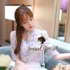 Sweetie Korea Pastel Blossom Blouse by Seoul Secret  Material : เนื้อผ้าชีฟองเนื้อนุ่ม เนื้อสวยดูดีมากคะ สวยหวานด้วยงานพิมพ์ลายดอกไม้โทนสีพาสเทล สีสวยหวานน่าใส่มากคะ เก๋ๆ ด้วยทรงเชิ้ตแขนสี่ส่วน มาพร้อมกับสายเดี่ยวซับในแยกชิ้นได้นะคะ สาวๆ จะใส่ Match คู่กั