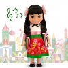 z Disney ''it's a small world'' Maxico Singing Doll - 16'' (พร้อมส่ง)
