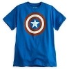 z Captain America Icon Tee for men by Mighty Fine Size M