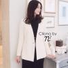 Cliona Made ,White Nany Hygiene Set - Set เสื้อทรงสูทดีเทลกระดุม 4 เม็ด มาพร้อมกางเกงขาสั้นเข้าชุดกัน ลุค Smart&Casual สามารถแยกชิ้น Mix&Match ได้หลายสไตล์ ใส่ง่ายเหมาะกับหลายโอกาส Cutting/Pattern สวยเป้ะ Quality Confirm by Cliona