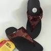Fitflop Shoes new electra (รุ่นใหม่เกล็ดปลาสีน้ำตาลแดง ราคา 490 ไซต์36-40)