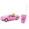 z Barbie Pink Corvette Convertible Car & Doll Set ของแท้100% นำเข้าจากอเมริกา ตุ๊กตาบาร์บี้ เซ็ตขับรถ มีรีโมทบังคับรถ