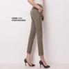 Pre-Order กางเกงทำงานผู้หญิง กางเกงสแล็ค ทรงดินสอ สีกากี