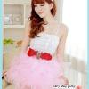 กระโปรงแดนเซอร์สวยๆ สีชมพู