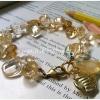 ++ Citrine ซีทริน สีเหลืองทอง รูปทรงอิสระ ติดตุ้งติ้งกระพรวนกรุ๊งกริ๊ง ++