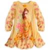 zDisney Belle Long Sleeve Nightshirt for Girls ของแท้ นำเข้าจากอเมริกา (Size:4)
