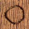 ++ Tiger's Eyes - ไทเกอร์สอาย (หินตาเสืv) เม็ดกลมขนาดประมาณ 4 mm ++