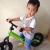 จักรยานฝึกหัดการทรงตัว BKK (Bikinki) Brave Balance จักรยานขาไถ ที่ดีที่สุดสำหรับเด็ก 18เดือน- 5 ขวบ เพื่อให้หัด ทรงตัวได้เร็วขึ้น รุ่น basic ราคา 2600 บาท หนัก 2.8 kg