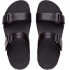 fitflop goodstock nubuck slide sandals สีดำ ราคา 550