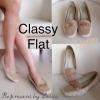 คัชชูผู้ดีมาแล้วจ้าาาา!!! New Classy Flat รุ่นนี้งานผ้าทอลาย งานสวยหายาก เรียบหรูดูเลอค่าสุดๆ รีบจองเลยจ้าาา รองเท้าคัชชูงานเก๋ ผ้าทอลายแบบมี texture ในตัว ด้านหน้าทรง loafer นิดๆ หนังพียูนิ่ม อล่นสีทูโทน ประดับอะไหล่สี pink gold ดูเลอค่า ใส่กับชุดสบายๆ ห