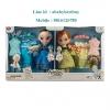 ฮ Disney Animators' Collection Anna and Elsa Dolls Deluxe Gift Set - 16''