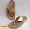 Fitflop Lulu Gold(หนีบลูลูสีทองเข้ม)ราคา 550 บาท