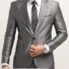(พรีออเดอร์) ชุดสูทสากล ชุดสูทผู้ขาย สูทแนวสปอร์ต กระดุมเม็ดเดียว สีเทาเงิน (silver gray) แฟชั่นสูทสไตล์เกาหลี