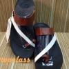 รองเท้าfitflop New Sling Leather for Women สีน้ำตาล/ขาว 550 บาท