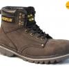 """รองเท้า CATERPILLAR CAT SECOND SHIFT 6"""" STEEL TOE น้ำตาลดำ หนังด้านชามัวร์ รองเท้าเซฟตี้ หัวเหล็ก size 40-45 สินค้าใหม่"""