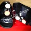 fitflop Arena Slide Black(สวมเพชร 4 เม็ดสีดำ) มีไซด์ 36-40 ราคา750บ.