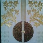 ภาพต้นไม้ทองคำ ขนาด 1 x 1 เมตร