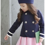 เสื้อกันหนาวเด็กสไตล์ชุดนักเรียนเกาหลี แบรนด์ PinkIdeal