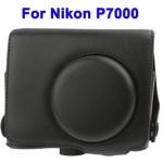 พร้อมส่ง กระเป๋ากล้องหนัง เคสกล้อง Semi Soft Case for Nikon P7000