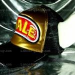 หมวก ARALE อาราเล่ หนังแก้ว สีทอง - ดำ