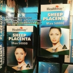 Healthway Sheep Placenta MAX 50000mg รกแกะเม็ด เฮลท์เวย์ ราคาถูก ขายส่ง ของแท้