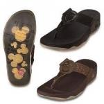 รองเท้า Fitflob Mickey Hazel มิกกี้เมาส์ สีน้ำตาล No. FF095
