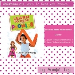 DVD Learn to Read with Phonics ทั้งหมดมี 2 แผ่น
