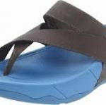 รองเท้า Fitflob Sling Leather Sport Smoky Gray  สีเทาควันบุหรี่  No.FF121