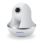 Plenty IP-J05-WS IP Camera Wireless Pan/Tilt IR 12M