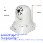 EasyN H3-187V P2P IP Camera 1,000,000 pixel