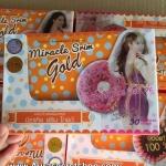 Donut Miracle Srim Gold โดนัท มิราเคิล สลิม โกลด์ ใหม่ ราคาถูกส่ง ของแท้