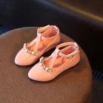 รองเท้าเด็ก คัทชูเด็กสีชมพู ไซส์ 30