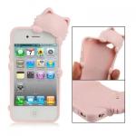 พร้อมส่ง* เคสไอโฟน 4 & 4S TPU Case แมวเกาะเคส (ส่งฟรี EMS)