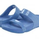 รองเท้า Fitflob Walkstar slide Blue สีฟ้า No.FF133