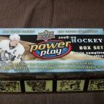 2008-09 power play Hockey box set