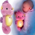 Z Fisher Price Ocean Wonders Soothe and Glow Seahorse in Pink ม้าน้ำกล่อมนอน สีชมพู