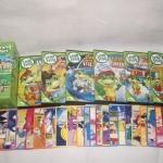 DVD Leap Frog Learning ทั้งชุดมีทั้งหมด 15 แผ่น แผ่นละ 25 บาท