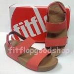 รองเท้า Fitflop New สวม รัดส้น สีแดง No.FF426