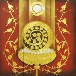 ภาพประดับห้องพระ ทองคำเปลวแท้100% ขนาด1x1เมตร